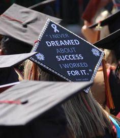 Top 12 Creative Ways to Decorate Your Graduation Cap  Quote Graduation Cap