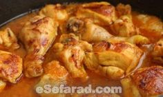 Pollo con Azafrán