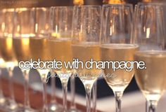 Celebrate with Champagne ✔ 19 December 2015- Celebrating Keiths new job contract and a fresh start for us in the upcoming 2016
