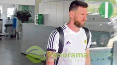 Leo Messi ya está cobijado por su familia en Barcelona