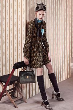 A look from #MiuMiuAutomneCollection