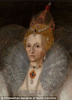Elizabeth I as you've never seen her before: Portrait showing off her wrinkles goes on display The work portrays Elizabeth I in her sixties  It was painted by Marcus Gheeraerts the Younger in the late 16th century