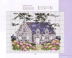 maison bretonne aux hortencias