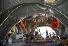 The Embassy - High style at Burning Man: The architecture of Black Rock City