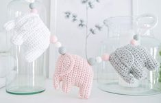 Knitting For Kids, Baby Knitting Patterns, Knitting Projects, Crochet Elephant, Handmade Home, Diy Crochet, Kids And Parenting, Needle Felting, Baby Love