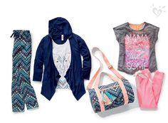 Introducing Just Comfy by Justice. Layer. Lounge. Love.