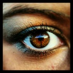 My eye make-up:) browns and blues