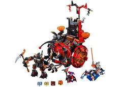 LEGO Nexo Knights Jestro's Evil Mobile (70316) #LEGO #NexoKnights #LEGONexoKnights #LEGOCastle #Steampunk #LEGOSteampunk #Afol #Afols