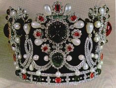 1967 : Van Cleef & Arpels for the coronation of Farah as Queen of Persia, Shahbanou of Iran