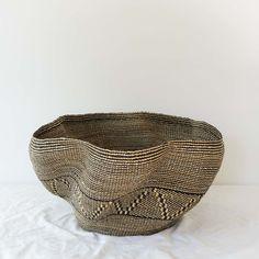 Wave Basket VII from Ghana