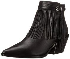 Sigerson Morrison Women's Lena Boot, Black, 6 B US