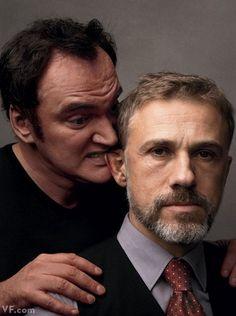 Tarantino and Waltz