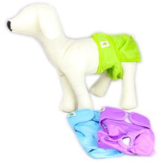 Dog Diapers 3-pack - Pet Magasin. Perfect for aging pet & puppies  http://CelebNewsPlus.com
