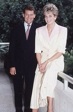 Paul Burrell, who turned on Diana and wrote the tell-all book, and Princess Diana