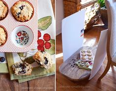 These muffins are brightened up by using foam boards to reflect light into the subject of the shoot Food Photography Tips, Amazing Photography, Pho Recipe, Photo Tips, Photo Ideas, Food Styling, Styling Tips, Food Art, Food Food