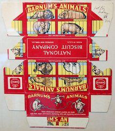 Vintage Barnum's Animal Crackers (Marlene Stoffers, via Flickr) Miniature printable