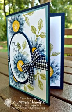 Painted Harvest just might be the ultimate perfect stamp set! Well, maybe I'm going a bit too far with that statement, but it's close! I knew that my people coming to class would love it, too. I had to include a card using this fantastic set. Here it is. The...