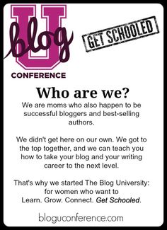 """BlogU: Get Schooled (Without Gaining the Freshman Fifteen) - Funny Is Family. Amy of @FunnyIsFamily talks #BlogU14 and the importance of finding your """"tribe."""""""