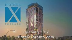 Hotel X Toronto will be a unique lakefront urban resort which brings to Toronto the most cutting edge mix of hospitality, sports and entertainment options ever assembled in an urban setting. Housed in a modernistic iconic tower, the property rises 30 stories above the waterfront.Hotel X Toronto is the only hotel on the historic grounds of Exhibition Place, located just inside the iconic Princes' Gates and opposite the Enercare Centre. Hotel X Toronto is divided into two buildings: the Main…