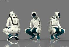 3d Character, Character Concept, Armor Concept, Concept Art, Astronaut Suit, Combat Suit, Futuristic Armour, Suit Of Armor, Cyberpunk Art