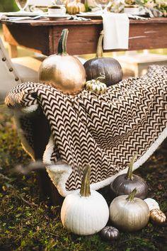 Idea: Pintar calabazas para una hermosa decoración de otoño
