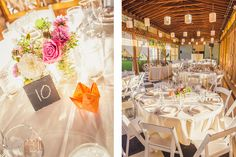Marni and Steve's wedding at Mt Hood Organic Farms. Flowers by Lucy's Informal Flowers | Sikora Photography