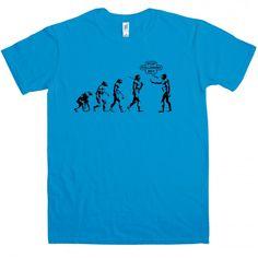 Evolution - Stop following me t-shirt