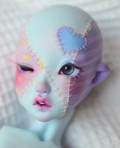 Sofie1 | Leilah | Flickr - Google Chrome - Gyazo Custom Monster High Dolls, Custom Dolls, Ooak Dolls, Art Dolls, Arte Peculiar, Character Art, Character Design, Kawaii Doll, Doll Painting