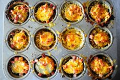 Pioneer Woman's Individual Scalloped Potatoes with Ham!