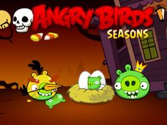 Angry Birds Seasons recibe 30 nuevos niveles por Halloween