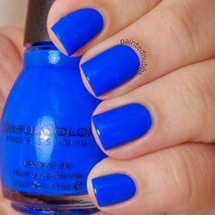 Painted Nubbs: SinfulColors Professional Endless Blue