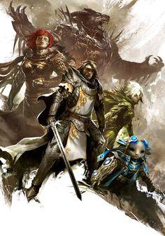 Guild Wars 2 by Kekai Kotaki