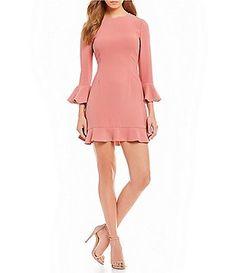 Jill Jill Stuart Ruffle Hem Crepe Dress Crepe Dress, Peplum Dress, Petite Size, Formal Gowns, Party Fashion, Everyday Look, Special Occasion Dresses, Casual Dresses For Women, Dillards