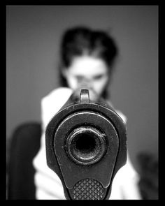 A matter of perspective • Looking Down the Barrel of a Gun