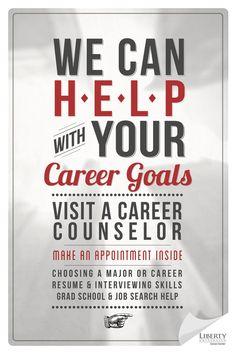 Liberty University Career Center // Print// '12 by Ryan Andrews, via Behance