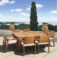 International Home Miami Amazonia Vincent 9 Piece Dining Set