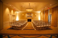 Ceremony in the Baltimore Marriott Waterfront Hotel's Waterview Ballroom