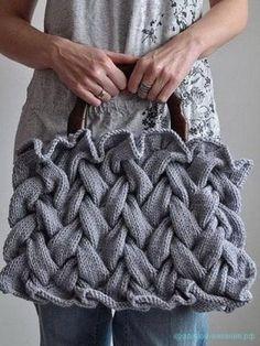 сумка спицами