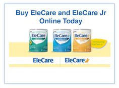 Elecare Formula    Dairy Free, Soy Free and the Most Gentle on GI Systems