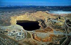 Butte Montana Berkley pit - copper was king here! Dad worked there!