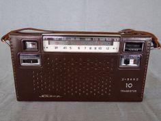Radio-transistor-Sharp-BX-330-1960-60s-Japan