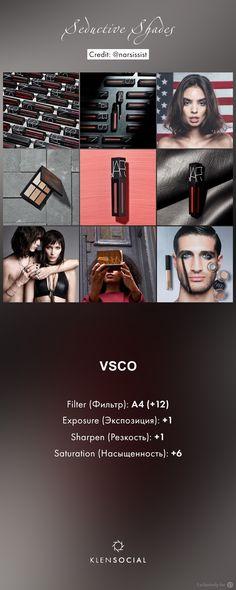 ***Seductive Shades*** Графические настройки VSCO//VSCO inspired presets
