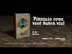 "Editora Globo livros, Booktrailer: HQ ""Pinóquio"", de Winshluss. - www.mutato.art.br"