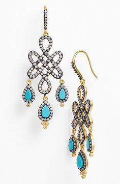 Freida Rothman 'Femme' Chandelier Earrings available at #Nordstrom