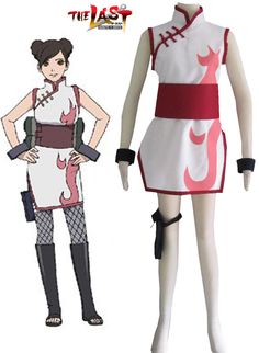 [NARTO007] Naruto The movie The last-Tenten Cheongsam Cosplay in Collectibles, Animation Art & Characters, Japanese, Anime | eBay