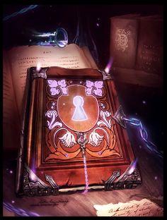Gift: Magic Book by Zolaida on DeviantArt