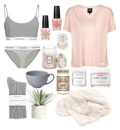Day Off by sprinkle-m on Polyvore featuring polyvore, fashion, style, Topshop, Splendid, Calvin Klein Underwear, OPI, Herbivore, Fresh, Allstate Floral, Voluspa, Juliska and clothing
