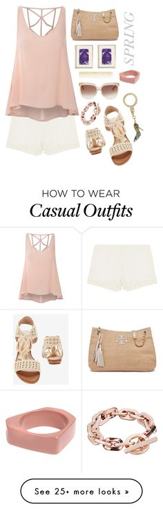 """""""Casual"""" by grinevagh on Polyvore featuring Joie, Glamorous, Tory Burch, AERIN, Jimmy Choo, Michael Kors, Kate Spade and Marni"""