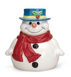 cookie jars collectibles images | Cookie Jar (Snowman) - 2006