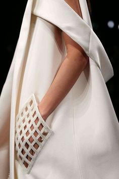 Balenciaga SS 2015 don't know how i feel about a see-thru pocket but it is so interesting.